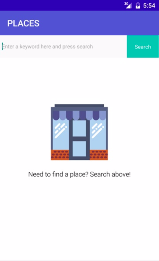 android place search