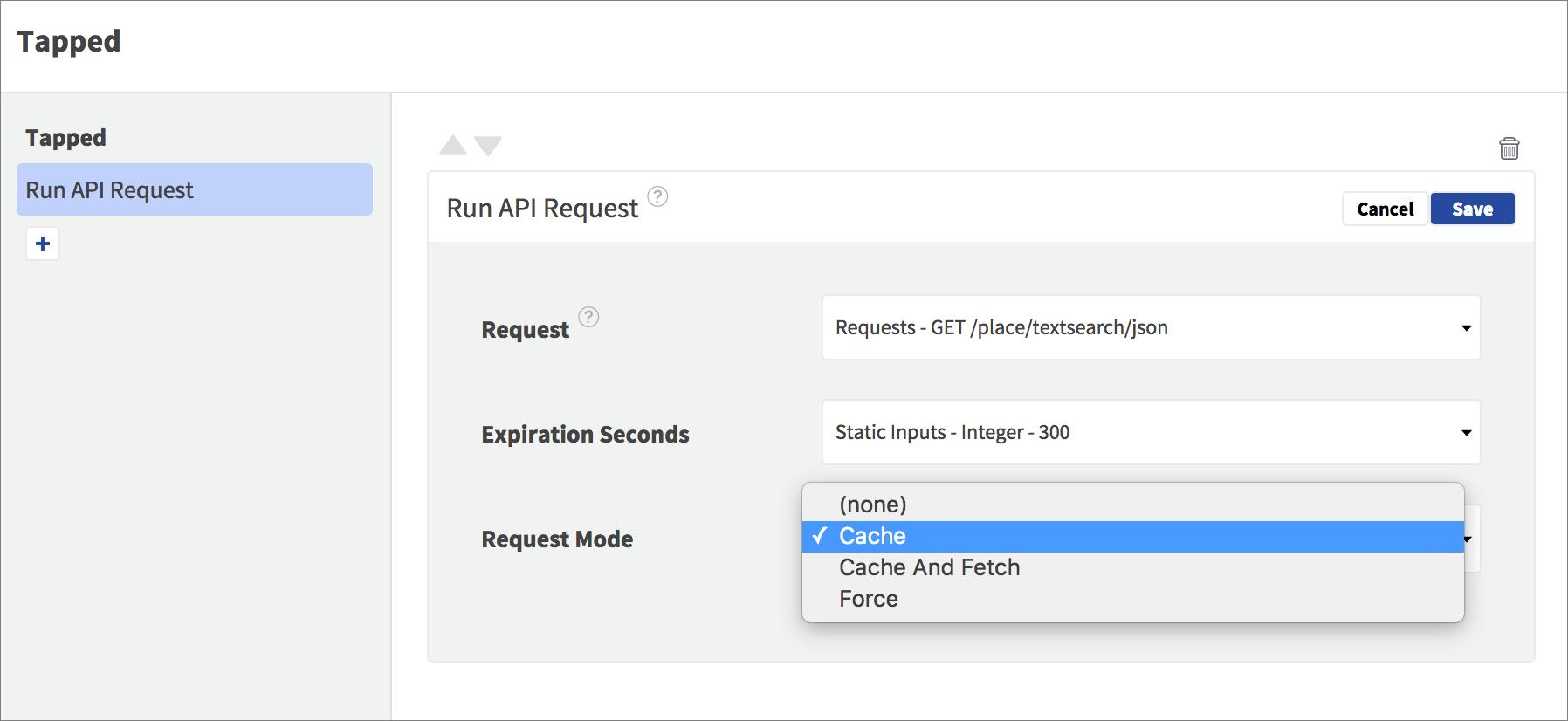 cache modes