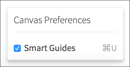 canvas preferences