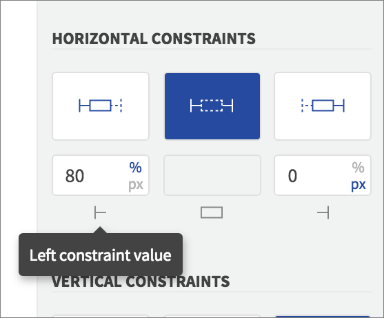 constraint value