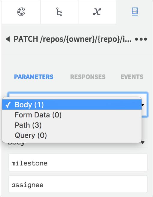 parameter types list