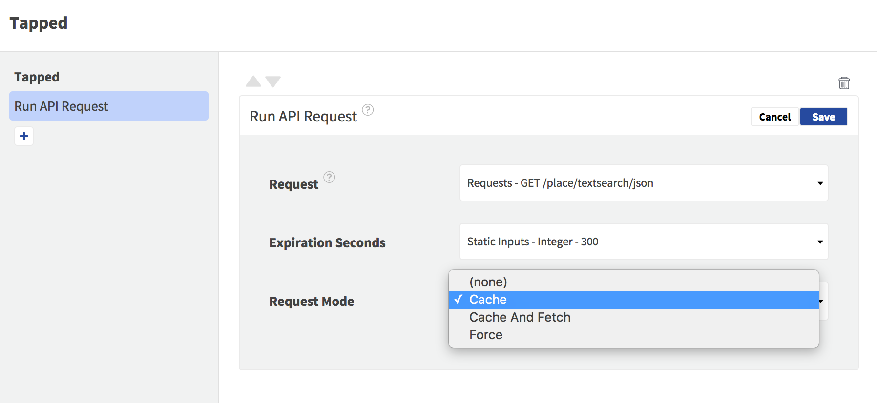request modes