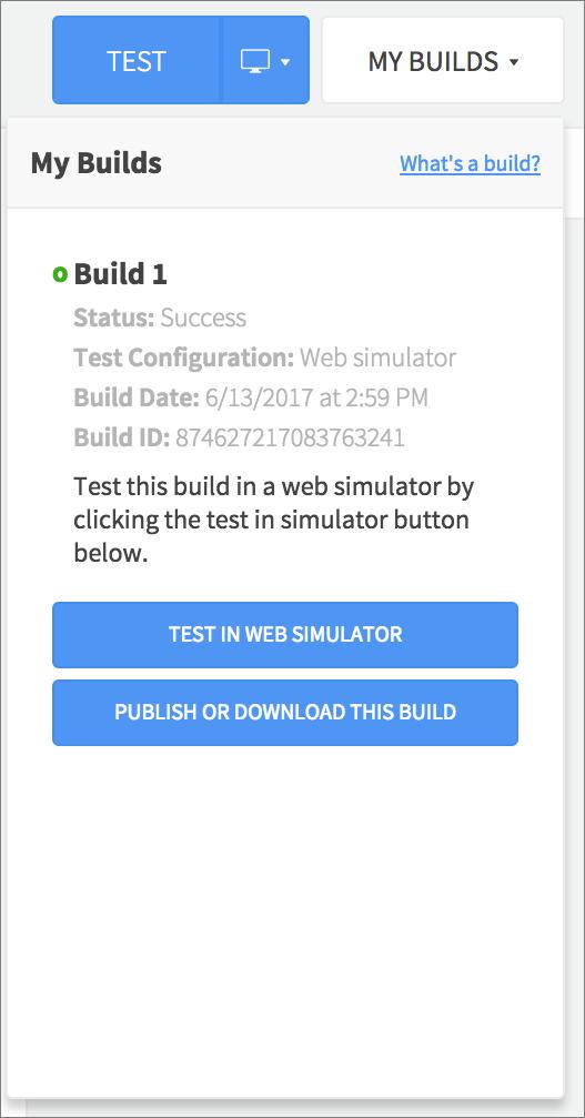 build list