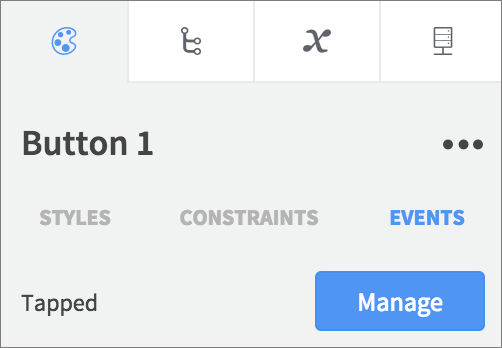 button events