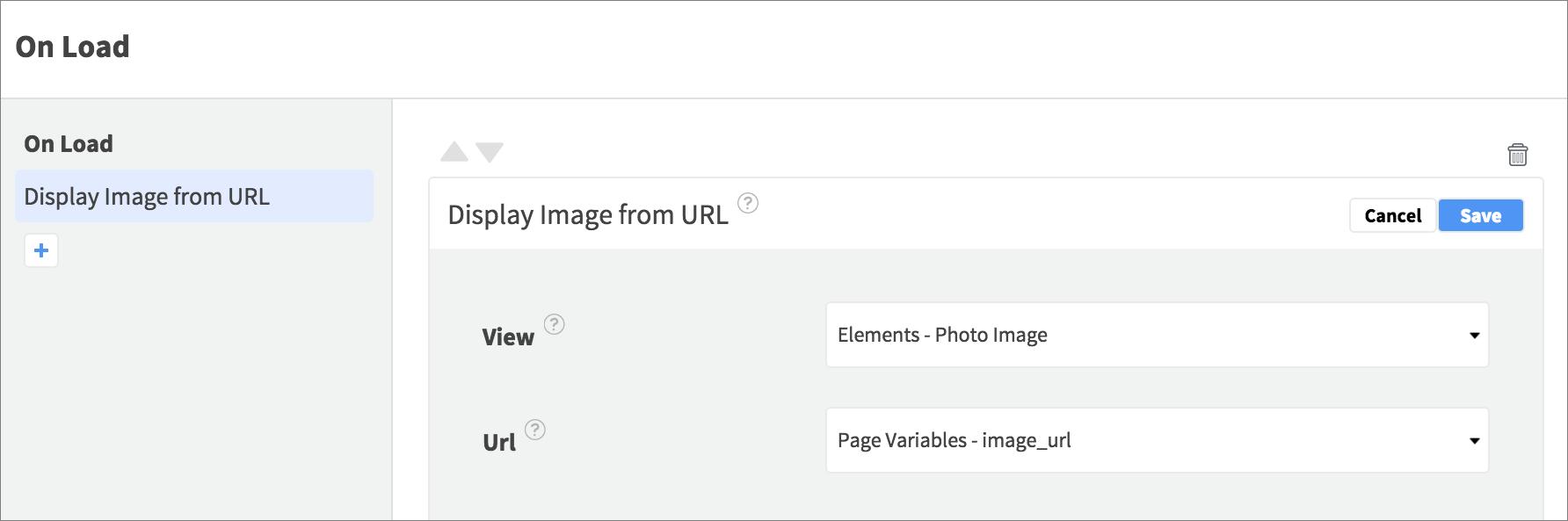 display photo image