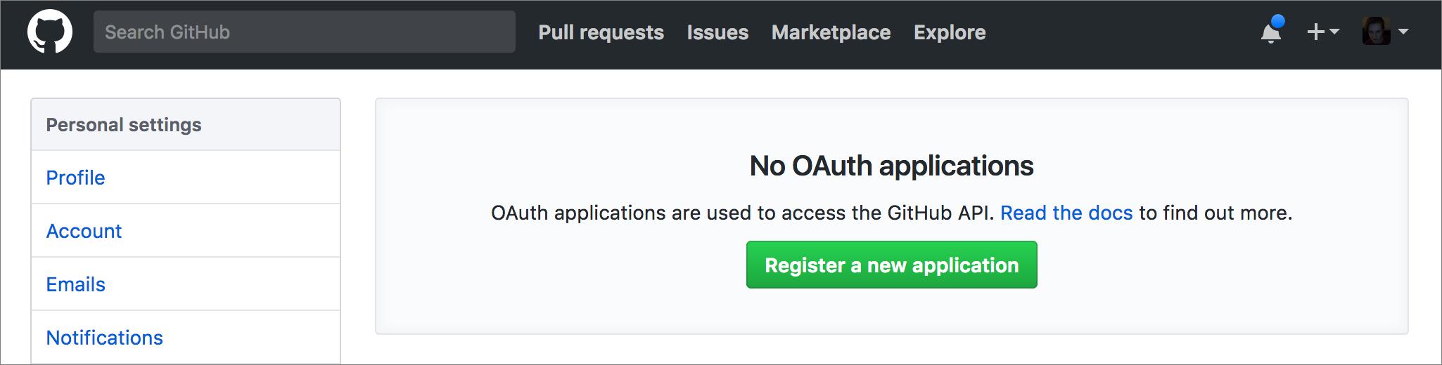 register oauth