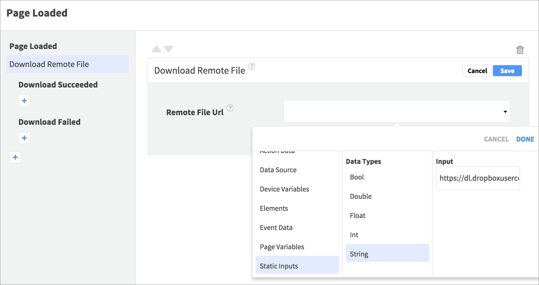 download remote file