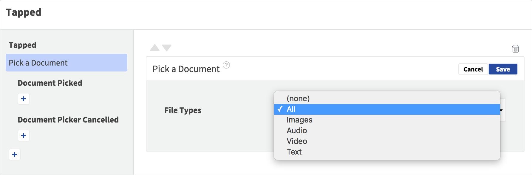 pick a document