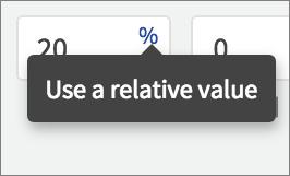 relative constraint